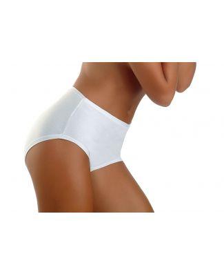 Set 6 Pezzi Slip Alto Culotte Donna Intimy Made In Italy Articolo 431