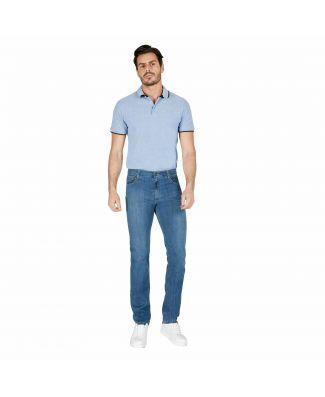 Holiday Jeans Morbido Cotone Tela Denim Orghing Uomo