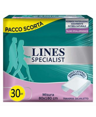 Lines 60 Pezzi Traversa Salvaletto 80X180 Impermeabile