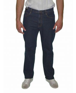 Jeans Uomo Sea Barrier Art Logical Elasticizzato Leggero Blu Scuro