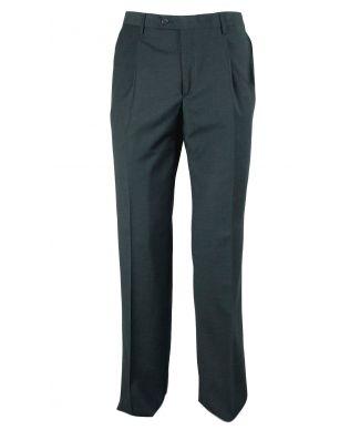 Pantalone Uomo Classico Pura Lana Vergine Invernale Bianchi