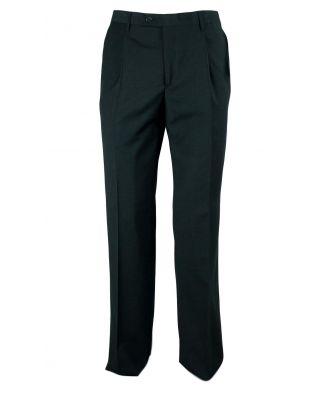 Pantalone Uomo Classico Misto Lana Fresco Lana Bianchi