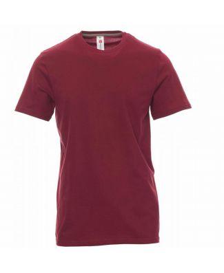 Payper T-shirt Girocollo Manica Corta in Puro Cotone Uomo