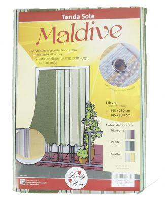 Tenda Da Sole Lovely Home Articolo Maldive Con Anelli 145x250 cm