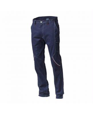 Siggi Pantalone da Lavoro in Cotone Elasticizzato Uomo