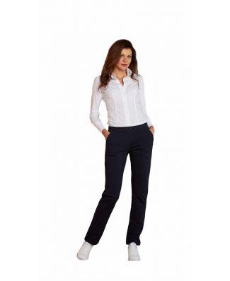 Pantalone Donna Taglie Forti Cotone Felpato Oxigym Art FL208 Over