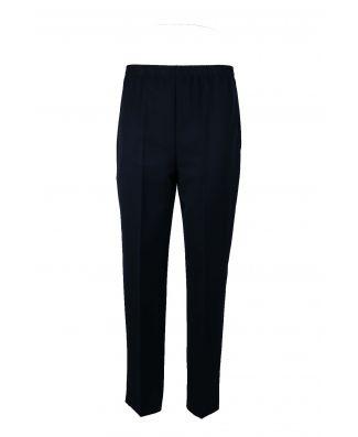 Clody Moda Pantalone Donna Gabardine Elastico In Vita Donna