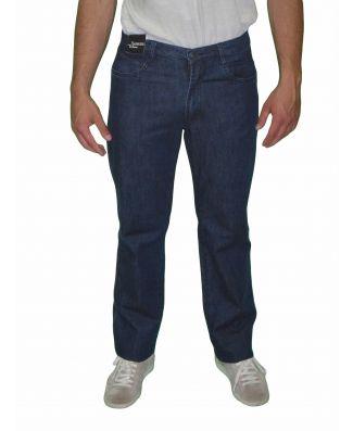 Jeans Uomo Sea Barrier Art New Infinity Cotone Elasticizzato Colore Blu