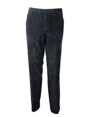 Pantalone Uomo Classico Velluto Millerighe Imbottito Foderato Pile Mastino Articolo H652