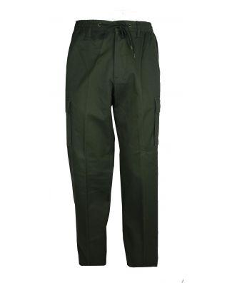 Pantalone Uomo Invernale Con Tasconi Cotone Elasticizzato Cargo Sea Barrier Articolo Jaco-Stretch