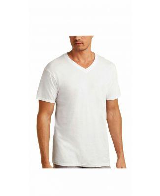 Set 3 Pezzi T-Shirt Uomo Manica Corta Madiva Scollo a V Filo di Scozia Art Max