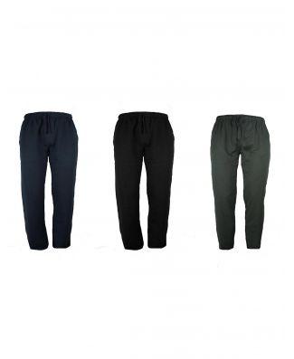 Pantalone Uomo Tuta Be Board Invernale Cotone Felpato Taglie Forti Art 9036 Conf