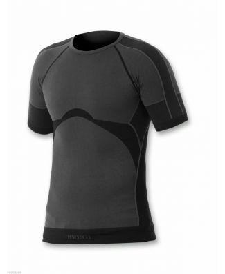 Set 2 Pezzi T-Shirt Mezza Manica Tessuto Tecnico Traspirante Brugi