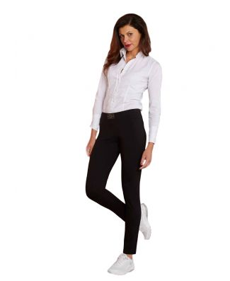 Leggings Taglie Forti Caldo Cotone Lungo Sportivo Elegante Donna Made In Italy Oxigym Art BL713AI