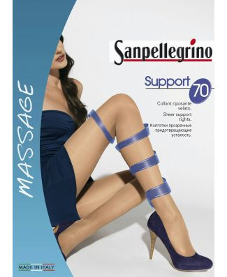 Sanpellegrino 6 Collant Riposante Support 70 Denari Donna