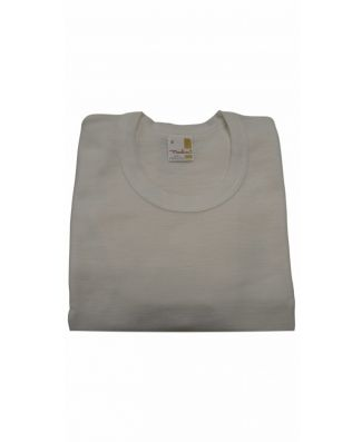 Set 3 Pezzi T - Shirt Mezza Manica Uomo Madiva Misto Lana Vergine Leggera Art Bari Made in Italy