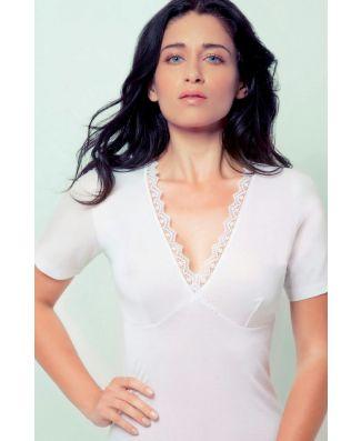 Madiva 2 T-Shirt Brigitte Mezza Manica Filo di Scozia Donna