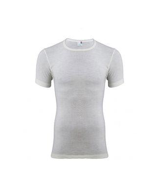 T - Shirt Mezza Manica Uomo Madiva 100% Pura Lana Vergine Art Assisi Made in Italy