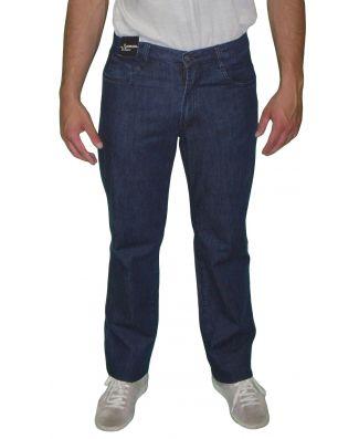 Jeans Uomo Sea Barrier Art New Infinity Conf Cotone Leggero Elasticizzato Taglie Forti Blu