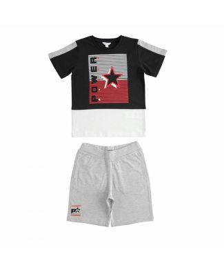 Dodipetto Completo Bimbo T-Shirt e Pantalone Corto Cotone