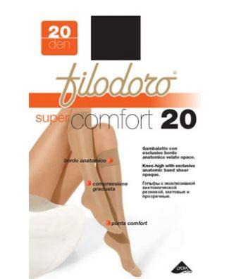 Set 6 Pezzi Gambaletto Donna Filodoro Super Comfort 20 Denari