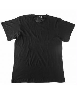 Set 3 T - Shirt Girocollo Cotone Taglie Forti Uomo Map Art 5001