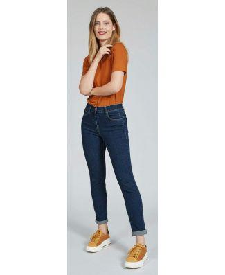 Iber Pantalone Brenda Lungo Jeans Vestibilità Slim Fit Donna