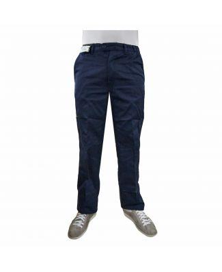 Crown Pantalone Chiusura a Zip con Tasche Laterali Uomo