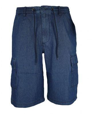Sea Barrier Bermuda Jeans Taglie forti 100% Cotone Uomo