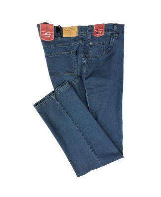 Jeans Uomo Leggero Sea Barrier Art. Kruger Tessuto Elasticizzato Blu