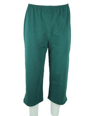 Pantalone 3/4 Pescatora Con Spacchetto Donna Oxigym Art BL212 Made In Italy