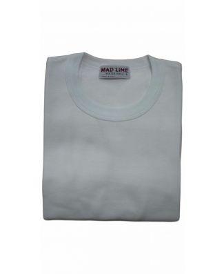 Set 3 Pezzi T - Shirt Mezza Manica Uomo Madiva Caldo Cotone Felpato Art Dino Made in Italy