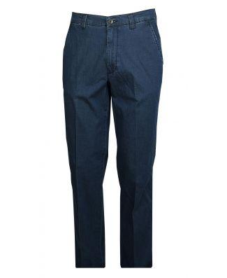 Pantalone Jeans Uomo Cotone Elasticizzato Leggero Taglie Forti Sea Barrier Extra Art Eurito Conf