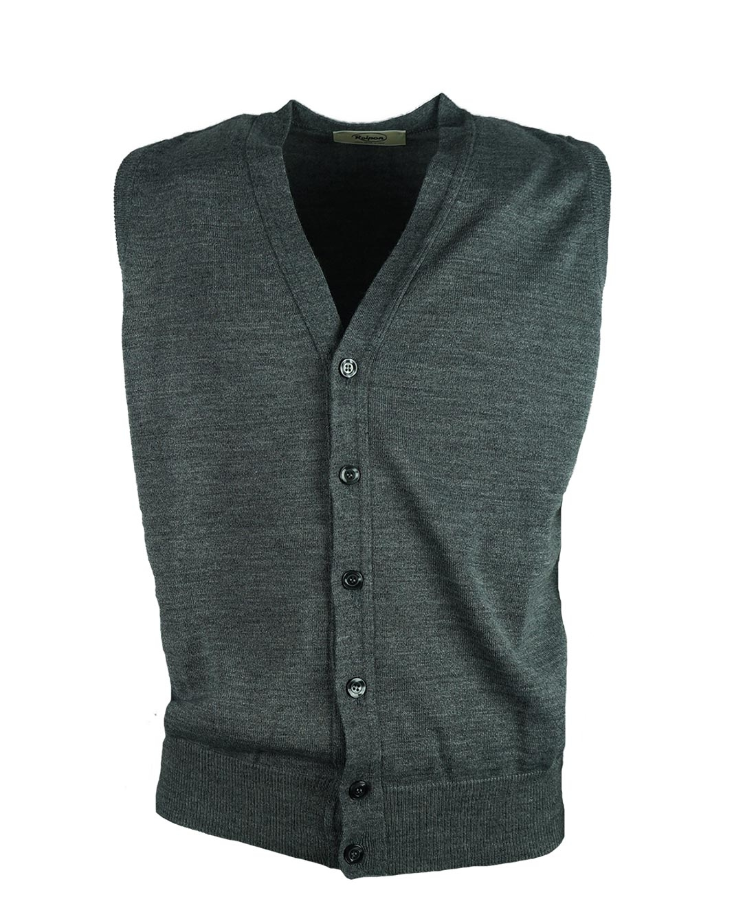 gilet homme sans manches boutonn cou en v laine m rinos raipan ebay. Black Bedroom Furniture Sets. Home Design Ideas